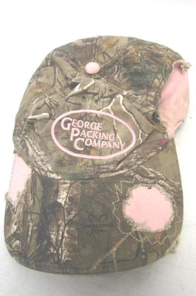 George Packing Co. Pink Camouflage Women's Hat One Size Fits Most
