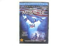 Miracle Walt Disney Pictures Widescreen DVD Kurt Russell True Story Sport Hockey