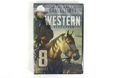 8 Movie Western Collection Featuring Sam Elliott DVD 2016 2 Disc Set NEW Sealed