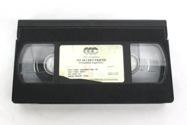 Rare VHS~MY SECRET FRIEND~ A Guardian Angel Story Fully Animated