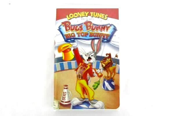 Looney Tunes ~Bugs Bunny: Big Top Bunny VHS 1999 Clam Shell Case Warner Brothers