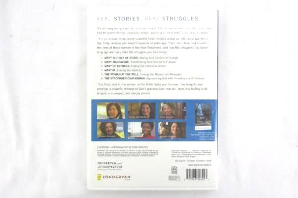 DVD Real Women Real Faith (Vol 2) Life-changing  Stories from the Bible