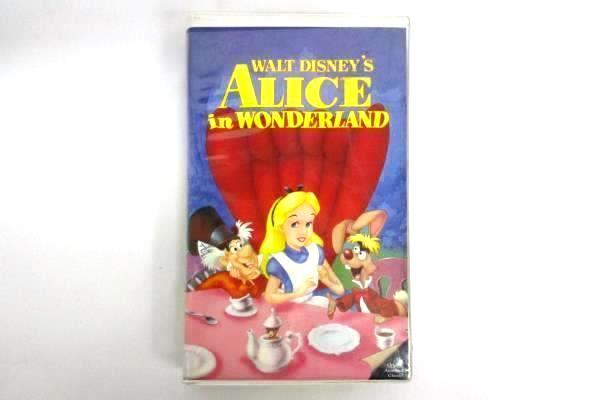 Vtg 1998 Disney Classic Alice In Wonderland Black Diamond Edition VHS Clam Shell