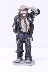 "Emmett Kelly 10"" Clown Figurine FIRST EDITION Flambro ""Looking Out to Sea"""