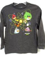 Old Navy Collectibles Angry Birds Space Long Sleeve Shirt Boy's Size S