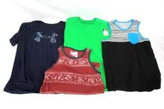 Lot of 4 Youth Boys Tank Tops Shirts Size XL Under Armour Fruit Of The Loom