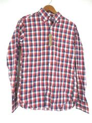 J. Crew Men's Red, White, Blue Plaid Checkered Button Up, Size S, NWT