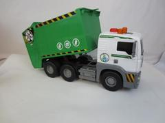 Waste Management Plastic Toy Truck Removable Containers w/ Button