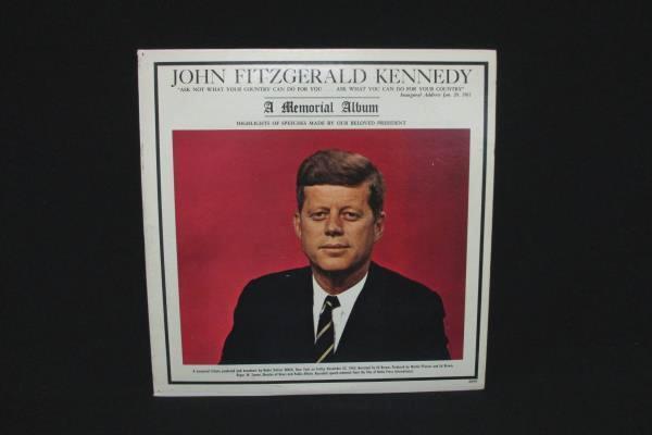 John Fitzgerald Kennedy A Memorial Album Vinyl LP Premier Albums 1963