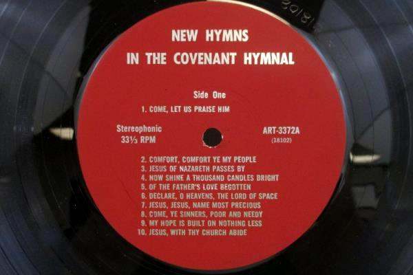 Come, Let Us Praise Him Vinyl LP Commemorating The Covenant Hymnal 1973 33RPM