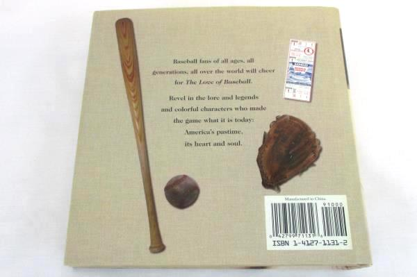 The Love of Baseball 2005 Hardcover Picture Book Publications International