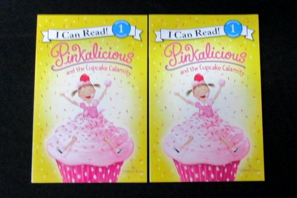 Lot of 2 Pinkalicious and the Cupcake Calamity I Can Read Level 1 Softcover