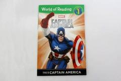 World of Reading This is Captain America: Level 1 Paperback Marvel 2014