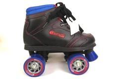 Boys Black Sidewalk Roller Skate by CHICAGO Skates, US Size 2, NWT