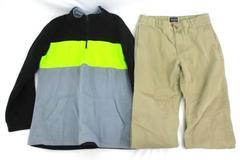 Lot of 2 Children's Place Boy's Clothes Size X-Large 14 Khaki Pants & Fleece Top