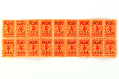 Lot of 18 Vintage 1960's MacDonald Plaid Trading Stamps