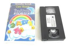 Care Bears Bedtime Stories VHS Movie 65 Mins Running Time Animation Station