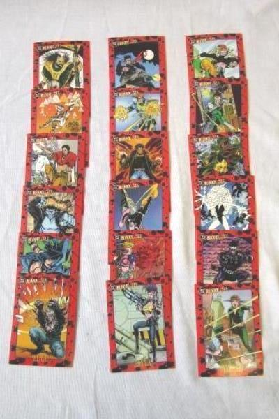 Lot of DC Bloodline Collectible Cards