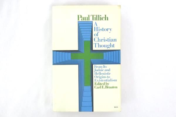A History of Christian Thought by Paul Tillich 1968 Paperback Touchstone Books