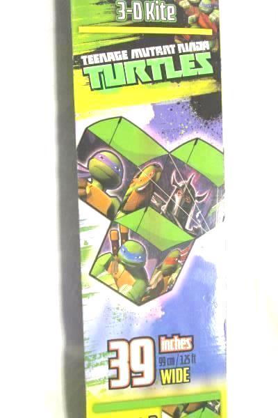 XKites Teenage Mutant Ninga Turtles Tri-Box Kite with Tri-Winder