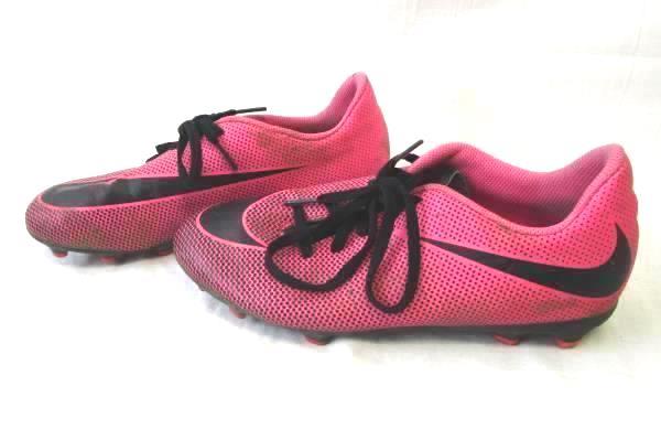 Nike Kids Bravata II FG Soccer Cleats Pink/Black 6Y