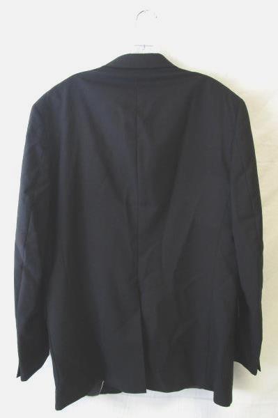 Alexander Shields Men's Black Two Button Blazer Size 44L