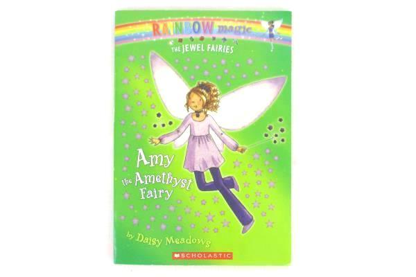 Lot of 3 Rainbow Magic Jewel Fairies Books Amy + India + Pet Fairies