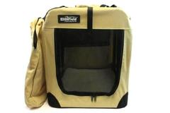 "EliteField 3 Door Folding Soft Dog Crate Indoor Outdoor Pet Home 25"" x 22"" x 18"""