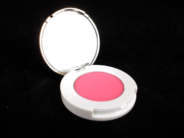 Isaac Mizhari True Powder Blush Compact w Mirror Blushing Pink 3.2g NIB
