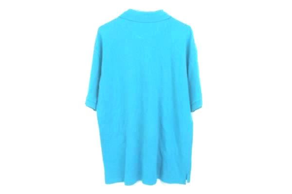Aeropostale Polo Style Shirt Short Sleeve Knit Solid Teal Mens Small