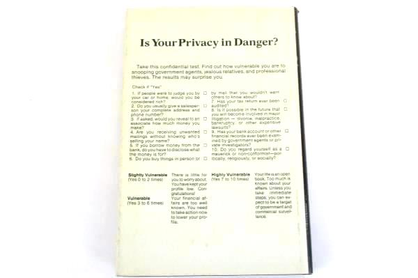 Mark Skousen's Complete Guide to Financial Privacy 1980 Hardcover
