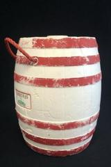 VTG Rare Thermos Karry-Keg Barrel Ice Bucket Beer Soda Cooler Styrofoam w/  Lid