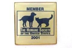 2001 Humane Society of the United States Enamel Pin