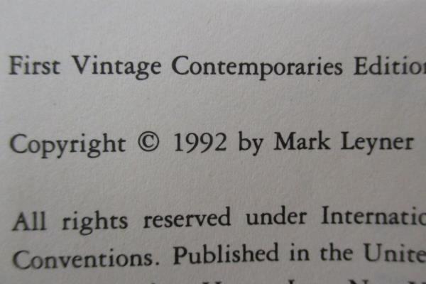 Et Tu, Babe by Mark Leyner Paperback