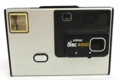 Vintage Eastman Kodak Disc 4000 Camera Compact Pocket Collectible Uses Disk film