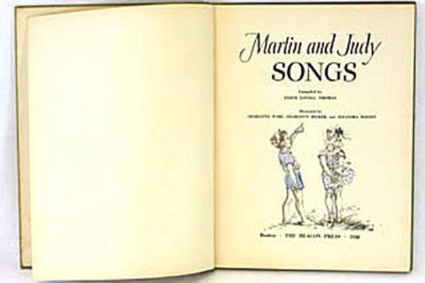 Martin and Judy Songs 1948 Songbook