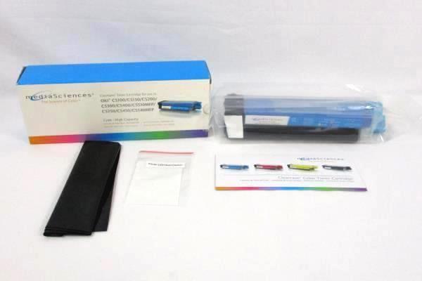 Media Sciences Clearcase Toner Cartridge Cyan - High Capacity
