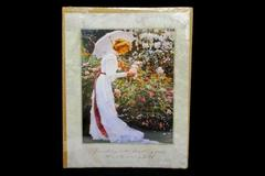 SANDRA KUCK Victorian Women Hidden Garden 11 x 14 Lithograph Print Picture New