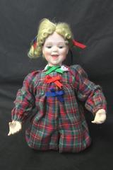"The Ashton-Drake Galleries ""Trisha"" Handcrafted Porcelain Doll 10"""