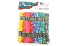 Janlynn Cotton Embroidery Floss Pack 8.7 yards 36 Colors