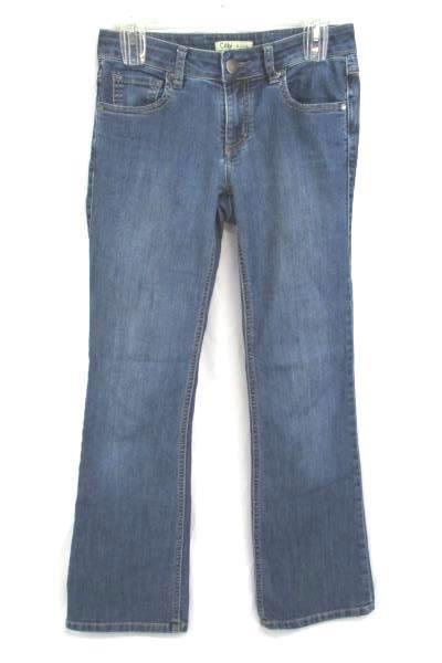 Cabi Jeans Distressed Denim Style 333R Flare Leg Womens Juniors size 0