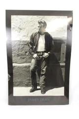 "James Dean Poster LARGE 36"" x 25"" Black and White"
