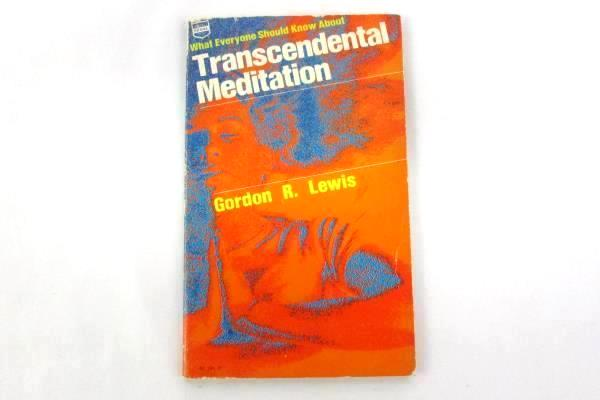 What Everyone Should Know About Transcendental Meditation Paperback 1975 Lewis