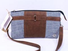 "byTavi Crossbody Bag ""Happy Stripe Townie"" Fair Trade w/Tags"