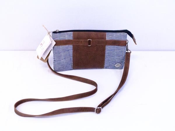 "byTavi Crossbody Bag ""Happy Stripe Townie"" Fair Trade w/Tags"
