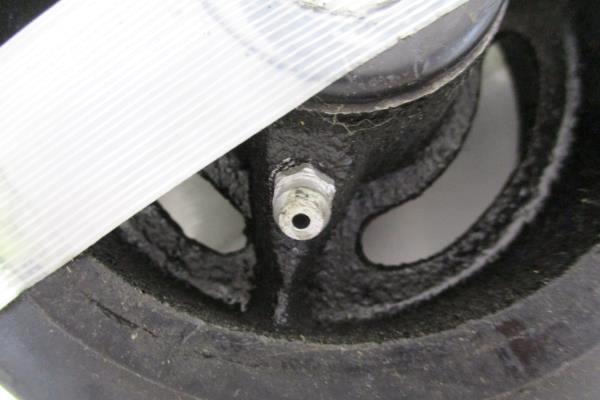 """Lot of 10 Heavy Zero Turn 5"""" Castor Mower Wheels & Tire"""