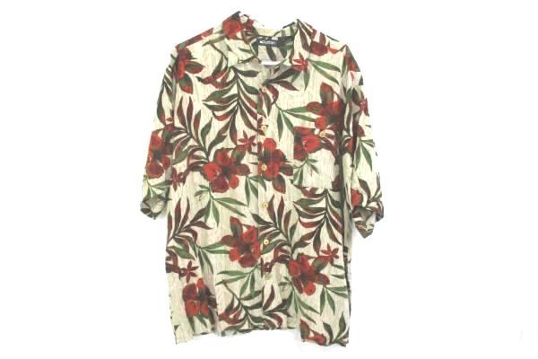Mens Button Up Casual Shirt Hawaiian Print By Puritan Size XL
