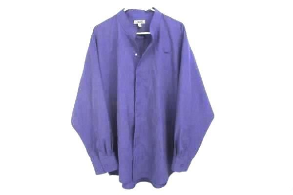 Edwards Garment Mens Batiste Grape Casino Shirt Size 2XL 1395-504