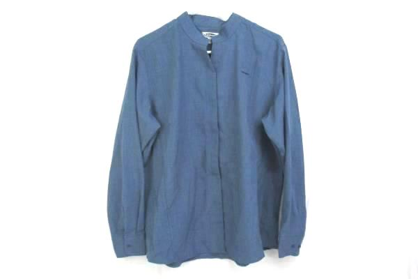 Edwards Garment Womens Ladies Batiste Riviera Blue Casino Shirt Size XL 5395-406