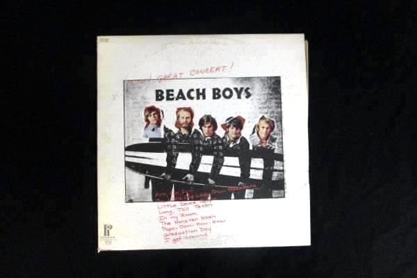 "Beach Boys - Wow! Great Concert! 1972 12"" Vinyl 33 RPM LP Record SPC-3309"